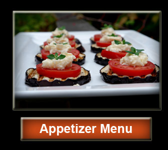 Orange County Catering Appetizer Menu
